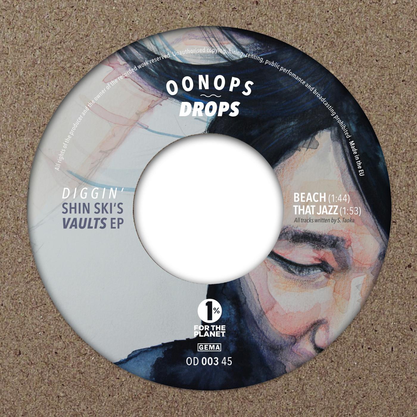 Shin-Ski – Diggin' Shin-Ski's Vaults EP